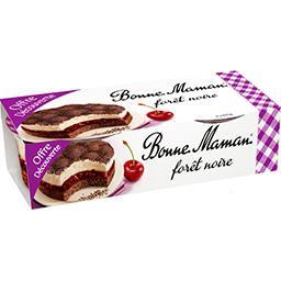 Bonne Maman Bonne Maman Forêt noire les 2 gâteaux de 100 g