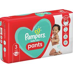 Pampers Pampers Couches-culottes baby-dry pants taille3, 6-11kg Le paquet de 46 couches