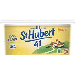 St Hubert St Hubert 41 Margarine doux  Bon & Léger 38% MG la barquette de 500 g