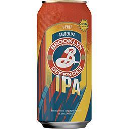 Brooklyn Brooklyn Bière defender ipa La canette de 50cl