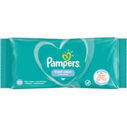 Pampers Pampers Lingettes bébé fresh clean Le paquet de 52 lingettes
