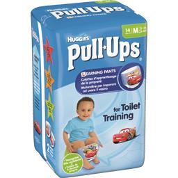 Huggies Huggies Culotte d'apprentissage Pull-Ups garçon, taille M : 11-18 kg le paquet de 14
