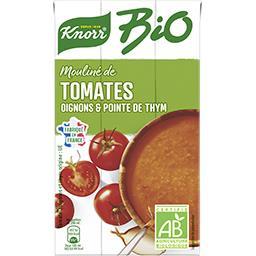 Knorr Knorr Mouliné de tomates oignons et pointe d'herbes BIO la brique de 1 l