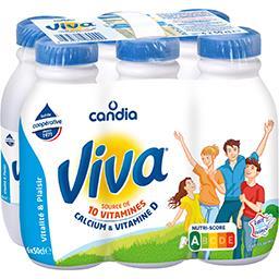 Candia Candia Viva - Lait à 1,2% MG les 6 bouteilles de 50 cl