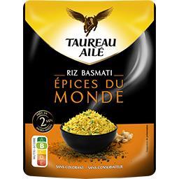 Taureau Ailé Taureau Ailé Riz basmati épices du monde le sachet de 250 g