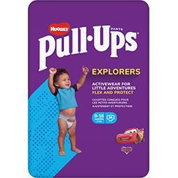 Huggies Huggies Pull-Ups - Couches-culottes garçon Explorers, 8-12 kg le paquet de 36