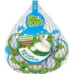 P'tit Louis P'tit Louis Coques fromagères au lait entier le filet de 12 fromages - 240 g