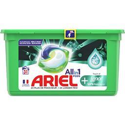 Ariel Ariel Lessive en capsules allin1 pods + unstoppables La boite de 31 capsules