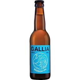 Gallia Gallia Pale Ale - bière blonde session 4,7% la bouteille de 33cl