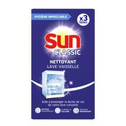 Sun Sun Nettoyant machine Boost les 3 doses de 40 g
