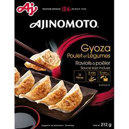 Ajinomoto Ajinomoto Ravioli à poêler Gyoza poulet et légumes la barquette de 212 g