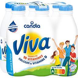 Candia Candia Viva - Lait à 1,2% MG les 6 bouteilles de 1 l