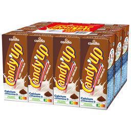 Candia CANDY'UP Candy'up - boisson lactée chocolatée les 12 briques de 20cl - 240cl