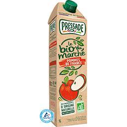 Pressade Pressade Le BIO du Marché - Nectar pommes de France BIO la brique de 1 l
