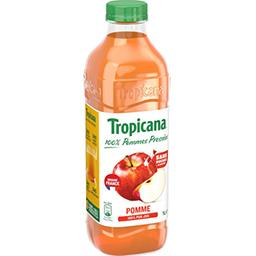 Tropicana Tropicana Pure Premium - Jus de pomme du Val de Loire, 100% pur jus la bouteille de 1 l