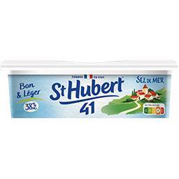 St Hubert St Hubert 41 Margarine sel de mer Bon & Léger 38% MG la barquette de 250 g