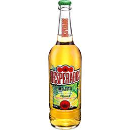 Desperados Desperados Mojito - Bière aromatisée Tequila menthe citron vert la bouteille de 65cl