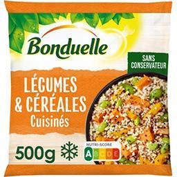 Bonduelle Bonduelle Légumes & céréales cuisinés patate douce butternut boulgour le sachet de 500 g
