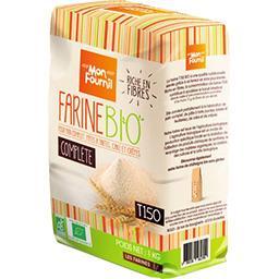Farine de blé complète bio