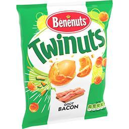 Bénénuts Bénénuts Twinuts double couche de biscuit goût bacon le sachet de 150 g