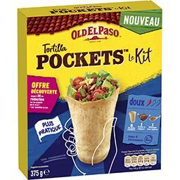 Old El Paso Old El Paso Kit pour tortilla Pockets la boite de 375 g