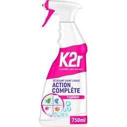 K2r K2r Détachant avant lavage action complète le spray de 750 ml