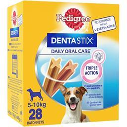 Pedigree Pedigree Dentastix - Sticks Daily Oral Care pour chiens 5-10 kg la boite de 28 - 440 g