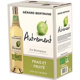 Gérard Bertrand Gérard Bertrand Autrement frais et fruité, vin blanc Bio La fontaine de 3l