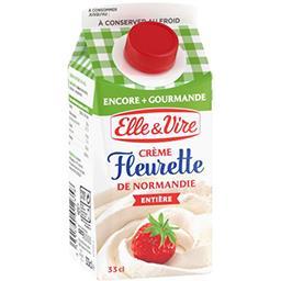 Elle & Vire Elle & Vire Crème fleurette de Normandie entière la brique de 33 cl