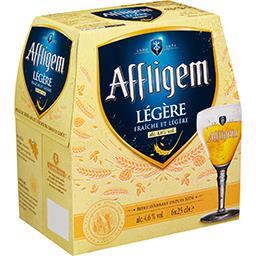 Affligem Affligem Légère - Bière blonde d'Abbaye les 6 bouteilles de 25cl