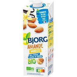 Bjorg Bjorg Lait d'amande vanille BIO la brique de 1 l