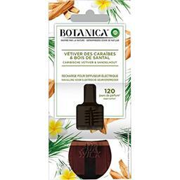 Botanica - Recharge électrique vétiver des Caraïbes & bois de Santal