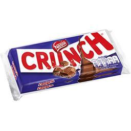 Nestlé Crunch Chocolat au lait et céréales croustillantes Les 2 tablettes de 100g
