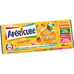 Apéricube Apéricube Fromage fondu apéritif édition limitée la boite de 48 cubes - 250 g
