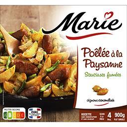 Marie Marie Poêlée à la paysanne saucisses fumées le sachet de 900 g