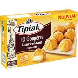 Tipiak Tipiak Gougères cœur fondant emmental la boite de 10 - 110 g