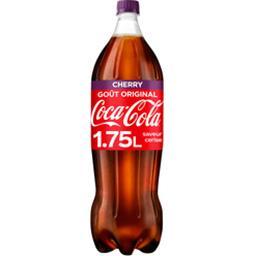 Coca Cola Coca-Cola Cherry - Soda saveur cerise la bouteille de 1,75 l