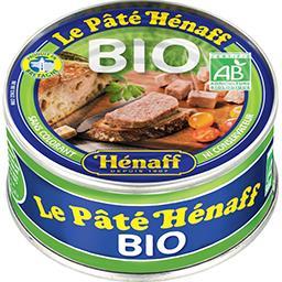 Henaff Hénaff Pâté pur porc BIO La boîte 154g