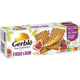 Gerblé Gerblé Biscuits figue et son la boite de 25 biscuits - 210 g