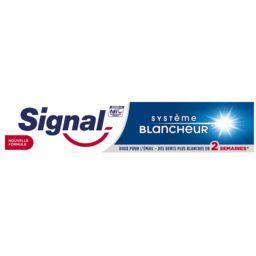 Signal Signal Système Blancheur - Dentifrice blancheur le tube de 75 ml