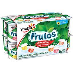 Yoplait Yoplait Frulos - Yaourt aromatisés fruits assortis les 16 pots de 125 g