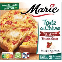 Marie Marie Tarte au Chèvre et tomates cerises la tarte de 400g