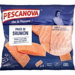 Pescanova Pescanova Pavés de saumon sans peau le sachet de 4 pièces - 400g