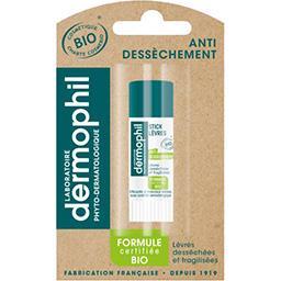 Dermophil Dermophil Stick lèvres anti-dessèchement BIO le tube de 4 g