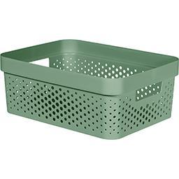 Curver Curver Bac de rangement 11L plastique recyclé vert Infinity le bac