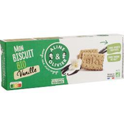 A&O Aline et olivier Biscuit goûter BIO vanille La boite de 150g