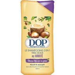 Dop Dop Le Shampooing 2en1 très doux au karité le flacon de 400 ml