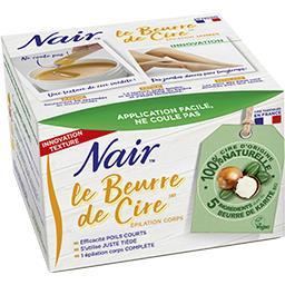 Nair Nair Le beurre de cire le pot de 150g