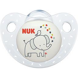 Nuk Nuk Sucette silicone serenity  0-6 mois Le lot de 2