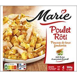 Marie Marie Poulet rôti pommes de terre fondantes le paquet de 900 g